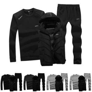 スポーツウェア スウェットセット メンズ 2点セット 冬 新作 裏起毛 あったか 防寒保温 ランニング スポーツ フード付き オシャレYUDB-AL19|cosplayshop