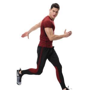 スポーツタイツ ランニングレギンス タイツト メンズ 新作 フィットネス 動きやすい ランニング トレーニング レギンス 吸汗速乾YUDQ-AL55|cosplayshop|04