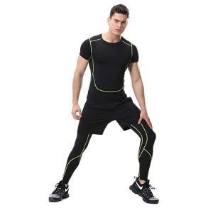 スポーツタイツ ランニングレギンス タイツト メンズ 新作 フィットネス 動きやすい ランニング トレーニング レギンス 吸汗速乾YUDQ-AL55|cosplayshop|06