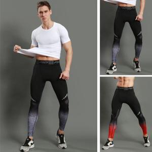 スポーツタイツ ランニングレギンス タイツト スポーツウェア メンズ フィットネス 動きやすい ランニング トレーニング レギンスYUDX-AL387|cosplayshop