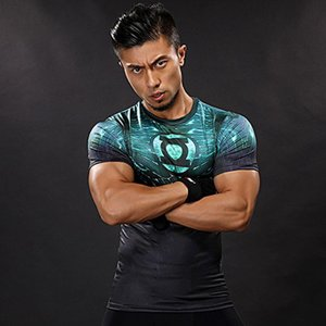コンプレッション メンズ トップス Tシャツ ストレッチウェア スポーツウェア スポーツシャツ フィットネス 動きやすい ランニング トレーニング 夏YUDX-AL396|cosplayshop