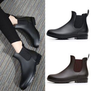 レインシューズ?レディース メンズ レインブーツ ショートブーツ 雨靴 防水靴 雨具 通勤 雨の日グッズ ファッションYXK1-TB104|cosplayshop