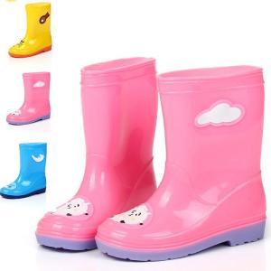 レインシューズ?キッズ 子供用 レインブーツ 男の子 女の子 雨靴 防水靴 雨具 おしゃれ 梅雨 雨対策 サイドゴア 可愛い 防滑YXK1-TB24|cosplayshop