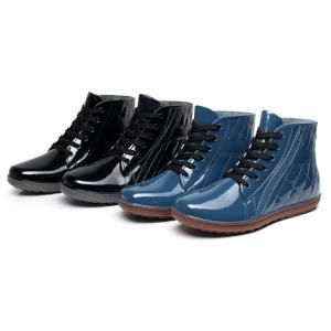レインシューズ?メンズ 雨靴 男性用 防水靴 雨具 おしゃれ 梅雨 雨対策 サイドゴア 軽量 人気YXX-TB105|cosplayshop
