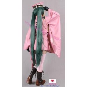 VOCALOID ボカロ 千本桜 初音ミク コスプレ 衣装 ウィッグ付き MilicaBooks|cospurehonpo|07