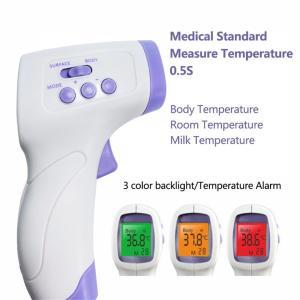 非接触電子温度計 体温計 おでこ スマート赤外線額温度計 高精度温度計 赤ちゃん 子供 大人 学校用...