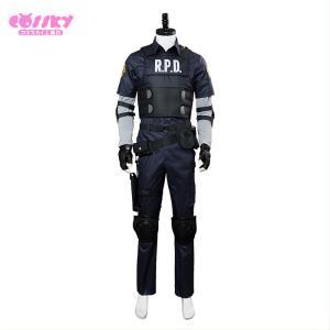 バイオハザード RE:2 Resident Evil 2 コスプレ レオン・S・ケネディ コスプレ衣装 cossky