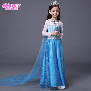 アナと雪の女王 エルサ コスプレ 衣装 ハロウ...の詳細画像1