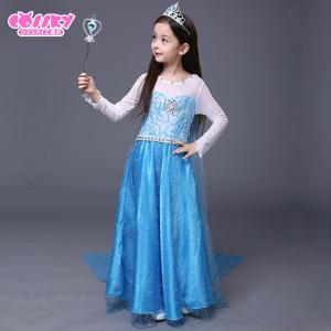 アナと雪の女王 エルサ コスプレ 衣装 ハロウ...の詳細画像3