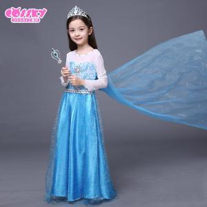 アナと雪の女王 エルサ コスプレ 衣装 ハロウ...の詳細画像4