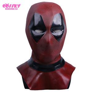 デッドプール Deadpool なりきりマスク コスプレ グッズ ラテックスマスク ヘルメット ハロウィン パーティー コスプレ道具 仮装 小物|cossky