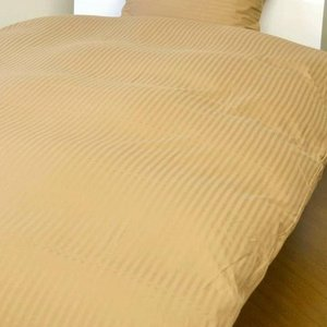westy(ウエスティ) 国産 綿100% ストライプサテンスペシャル カバー3点セット(ベッド用) シングル 070SBA3 costsaver
