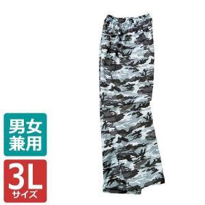カジメイク 迷彩パンツ グレー 3L 2218|costsaver