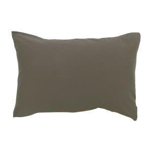 メリーナイト オーガニックコットン ニット 枕カバー 43×63cm ブラウン MO61010-93 costsaver