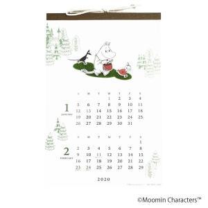 A.P.J. 2020年カレンダー 芝生 ムーミン 壁掛け 1000109398 costsaver
