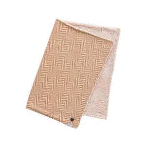 Suave Textile ブランケット ヘリンボーンキャメル 53283|costsaver