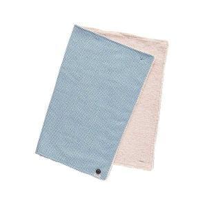 Suave Textile ブランケット ヘリンボーンブルー 53285|costsaver