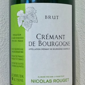 【原 語】:NV Cremante de Bourgogne - Nicols Rouget 【輸入...