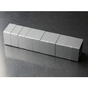 [規格]4.7×4.7×H2.3cmアルミ