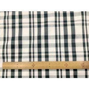 チェック生地 白×黒|cottonhouse-39