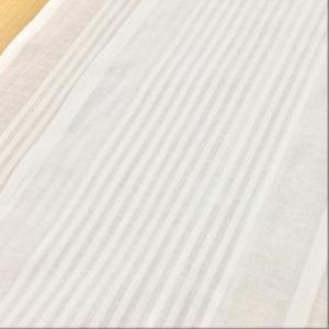 インド綿 生地 コットンボイルドビー ストライプ 布 布地 手芸 ファブリック