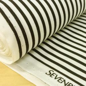 シンプルなストライプのブロード生地。 ストライプ幅【黒】約0.3cm 【白】約0.4cm 袋物、小物...