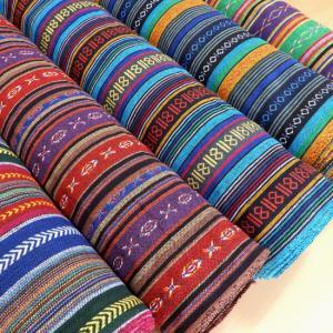 新柄 生地 布 メキシカンドビー 布地 ネイティブ柄 おしゃれ 手芸 アジアン インド綿 ラグ マット マルチカバー