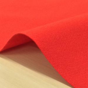 無地 生地/布(赤)ポリエステル カラーフェルト 毛氈代わりに/布地/写真撮影/お茶席 ディスプレイ/敷物/正月飾り/雛飾り/ひな祭り