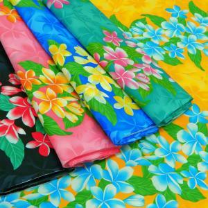 生地 ハワイアン柄 布 T/Cバチスト ハワイア...の商品画像