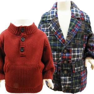 ベビー服 ジャケット セーター ベビーセーター 2点セット ギャップ ジンボリー 1歳 70〜80cm|couchetot-for-child