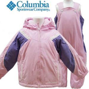 【アメリカ買付商品】高機能 Columbia コロンビア キッズ 子供 スキーウェア 4才 110cm 上下セット つなぎ 防寒  暖か|couchetot-for-child