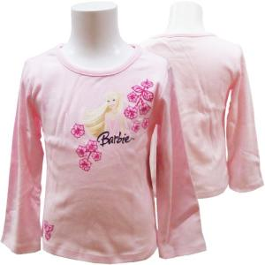 【訳あり】Barbie バービー 子供服 Tシャツ カットソー 長袖 110cm 115cm 【アメリカ買付商品】 couchetot-for-child