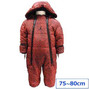 ベビー服 ジャンプスーツ 中綿入り オールインワン 防寒着 アウター JORDAN ジョーダン NIKE ナイキ 60cm 70cm 80cm|couchetot-for-child