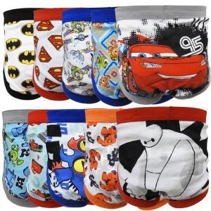 Disney ディズニー マーベル 子供用ブリーフ 男の子用パンツ 下着 キャラクターパンツ ばら売り セール 90cm 95cm 100cm 110cm|couchetot-for-child