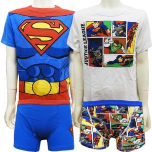 下着 Tシャツ ボクサーブリーフ 2セット 7/8才 130cm JUSTICELEAGUE ジャスティスリーグ couchetot-for-child