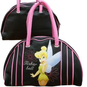 【訳あり/返品交換不可】Disney ディズニー ティンカーベル 子供用 ボストンバッグ 旅行かばん|couchetot-for-child