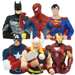 【アメリカ買付商品】  アメリカンヒーロー フィギア貯金箱   迫力満点☆アメリカンヒーローかっこい...