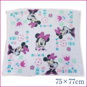 Disney ディズニー ミニーマウス ベビーブランケット 75×77cm 出産祝い【アメリカ買付商品】|couchetot-for-child