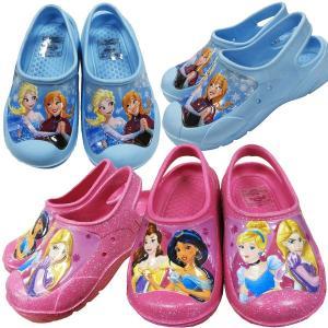 子供用サンダル ビーチサンダル ラバーサンダル 水陸両用 Disney ディズニー アナと雪の女王 プリンセス 14cm 15cm 16cm 17cm 18cm couchetot-for-child