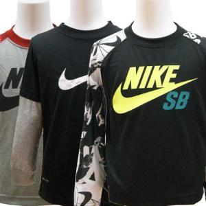 NIKE SB ナイキ エスビー キッズ ジュニア ドライフィット 長袖 Tシャツ カットソー 100cm 110cm|couchetot-for-child
