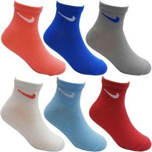 NIKE ナイキ 子供用靴下 キッズソックス スクールソックス ソックス 靴下 6足セット 17〜19cm|couchetot-for-child