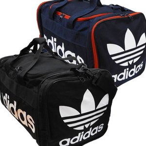 adidas アディダス トレフォイル オリジナルス ダッフルバッグ スポーツバッグ ジュニアバッグ メンズバッグ Santiago Duffel l ダッフルバック ボストンバッグ|couchetot-for-child