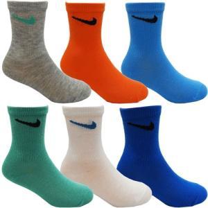 NIKE ナイキ 子供用靴下 キッズソックス スクールソックス ソックス 靴下 6足セット 14〜16cm 17〜19cm|couchetot-for-child