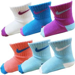 NIKE ナイキ ベビー靴下 ベビーソックス ブーティ 6足セット 靴下 出産祝い 10〜13cm|couchetot-for-child