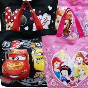 Disney ディズニー プリンセス カーズ 子供用かばん キッズバッグ ナイロン トートバッグ プールバッグ お砂場バッグ|couchetot-for-child