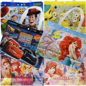 プールバッグ ビニールバッグ Disney ディズニー プリンセス カーズ トイストーリー ミニオンズ 子供用プールバッグ タカラトミー|couchetot-for-child