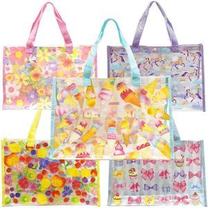 プールバッグ ビニールバッグ スイミングバッグ キッズフォーレ ムージョンジョン 子供用バッグ 女の子 男の子 36.5×25×13cm