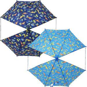 KidsForet キッズフォーレ マーブルライン ハングリーハート 窓付きキッズアンブレラ 子供傘 雨傘 男の子 入園 入学 遠足|couchetot-for-child