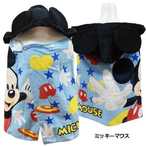 Disney ディズニー ミニーマウス スパイダーマン スター・ウォーズ 子供用タオル フード付き コンパクト バスタオル プールタオル|couchetot-for-child|16