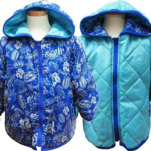 KID BOW  キッドバウ リバーシブル ダウンジャケット ブルゾン 80cm 暖か couchetot-for-child